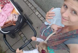 """Rikke Høyer, der står bag instagramprofilen Børnetanker, reflekterer over sætningen, """"men børn skal jo lære at ..."""" Foto: Privat"""