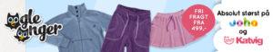 Hos Ugleunger kan du købe tøj til børn og babyer fra Joha og Katvig.