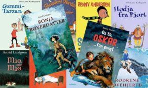 Mine favoritter: 10 bøger fra min barndom, der fås på Mofibo