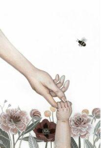 Alma Sophia laver de smukkeste illustrationer.
