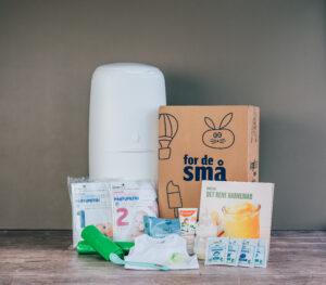 Hos Føtex kan du hente en gratis babystartpakke, når du tilmelder dig Føtex for de små.