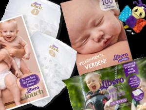 Melder du dig ind i Libero Klubben, kan du få en lille gratis gave til din baby.