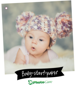 Hos Photocare kan du hente en gratis babypakke.