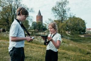 Det er i dag muligt at få rabat eller komme gratis ind flere steder, når du hjemmeskoler. Blandt andet her hos Danmarks Borgcenter. Foto: Frame & Work / Museum Sydøstdanmark